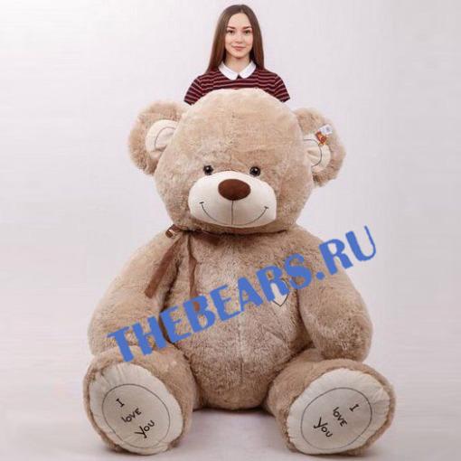 Огромный плюшевый медведь